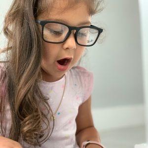 Ray Ban Junior Eyeglasses RY1553 3615 48 Black
